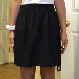 Black J CREW skirt